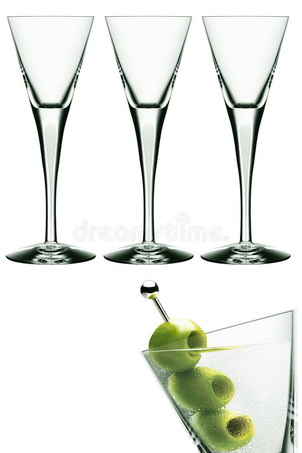 Free Martini Glasses Royalty Free Stock Images - 14592459