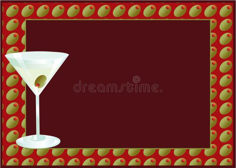 Download Martini Invite stock illustration. Image of copyspace - 13143251