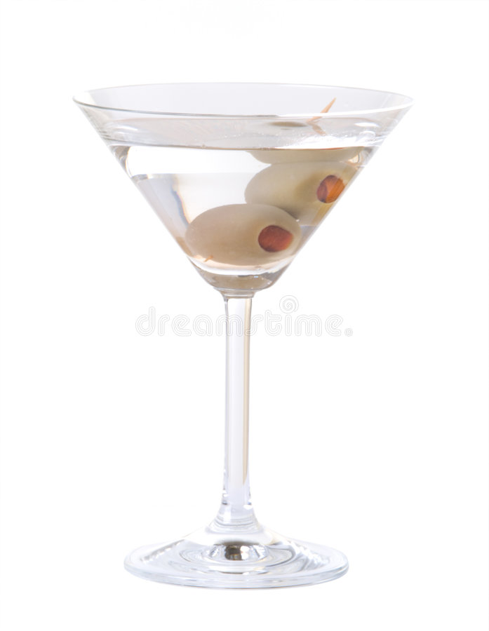 Martini isolou-se fotografia de stock royalty free