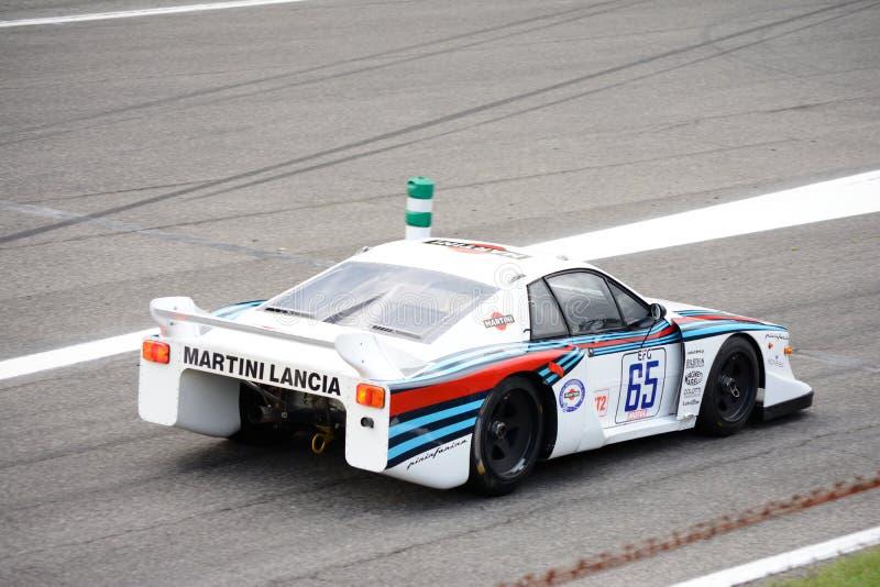 Martini Lancia Beta Montecarlo Turbo arkivbilder