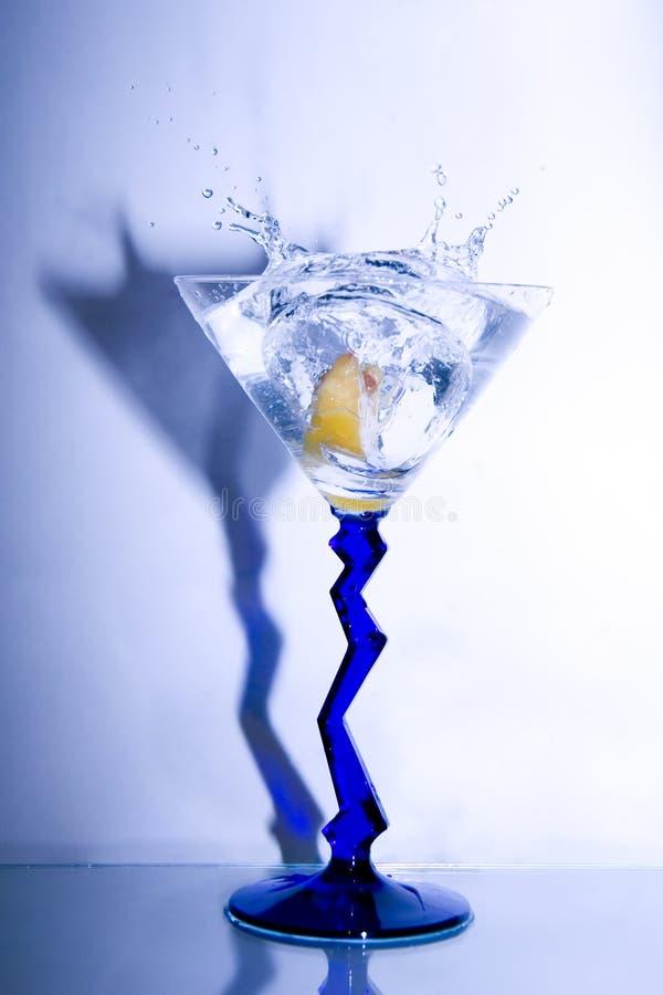 martini ' last splash ' zdjęcie stock