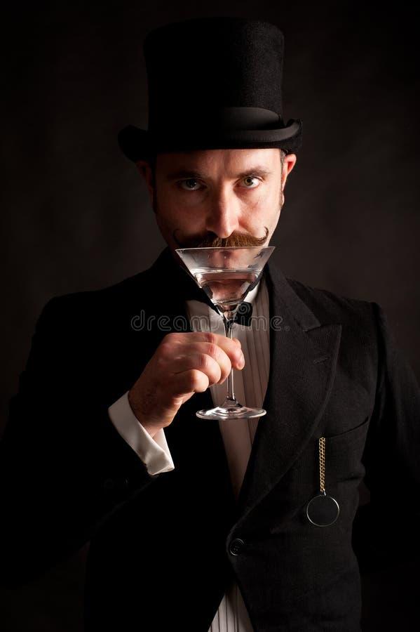 Martini man arkivbild