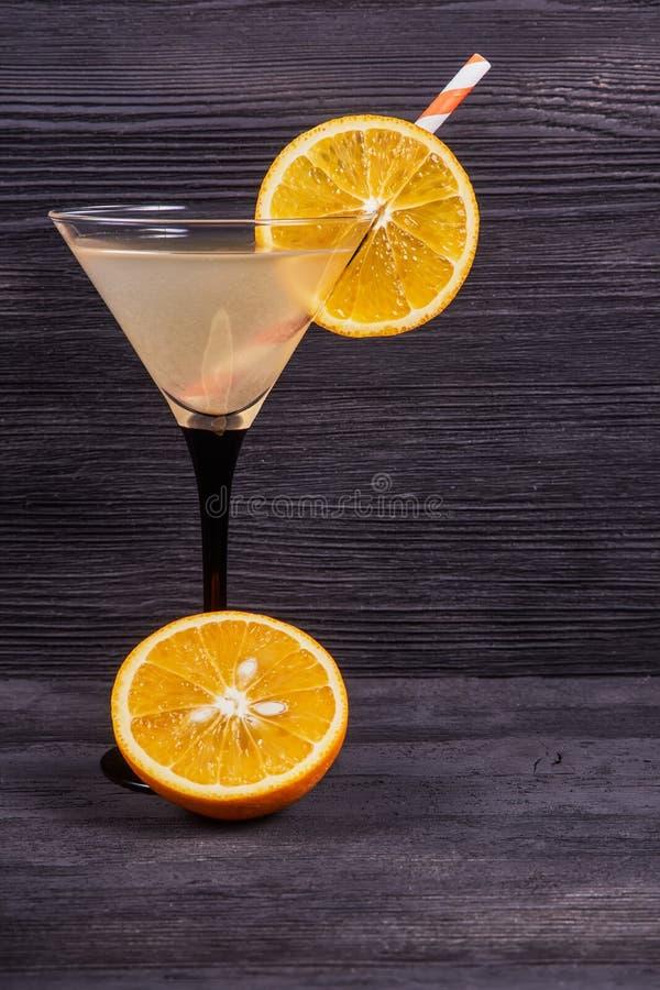 Martini orange frais images stock