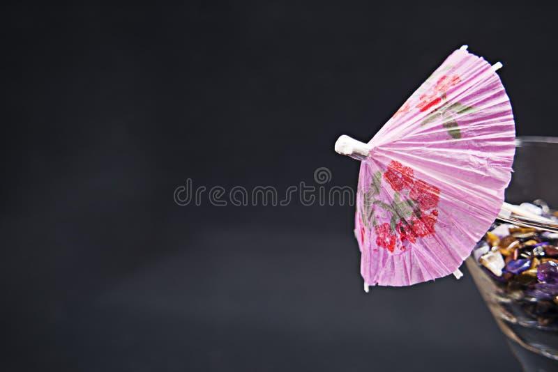 Martini-Paraplu stock fotografie