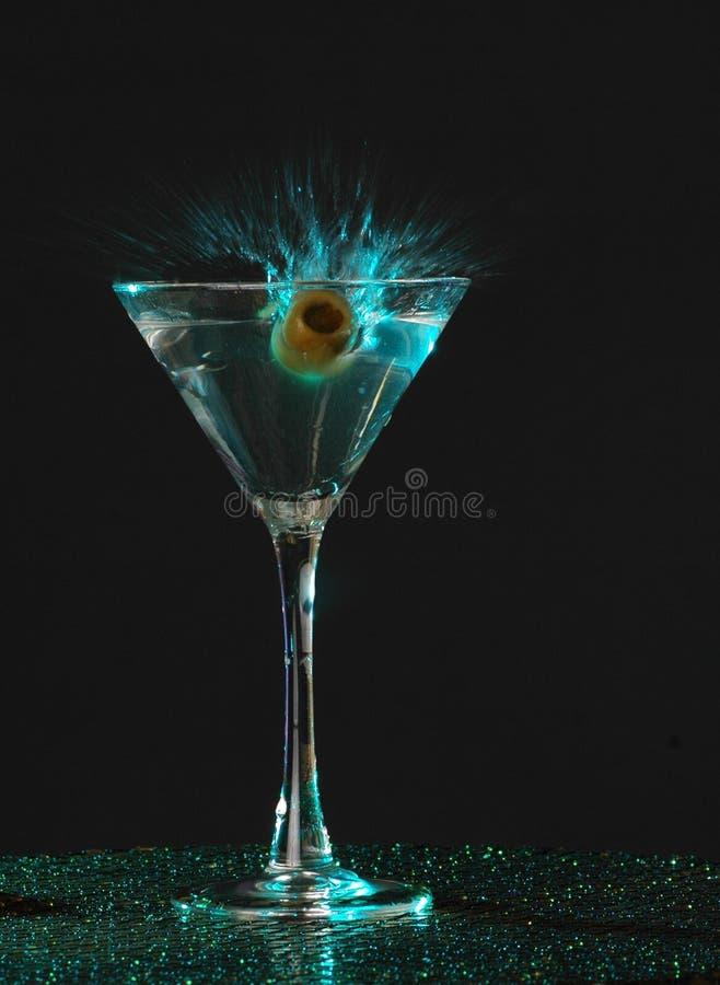 martini plaska royaltyfri bild