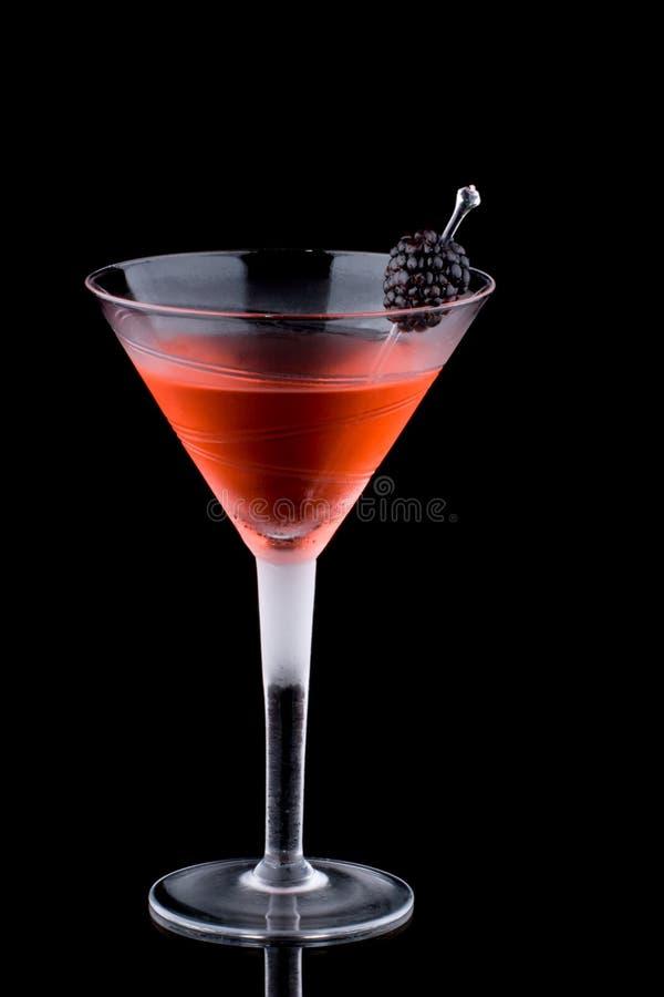 Martini preto - a maioria de série popular dos cocktail imagens de stock