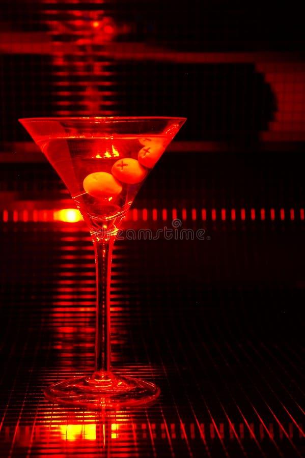 Martini rouge image stock