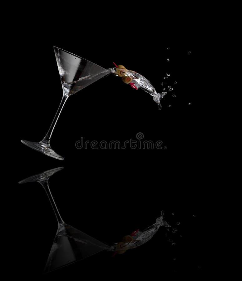 Free Martini Spilling Stock Image - 18219751