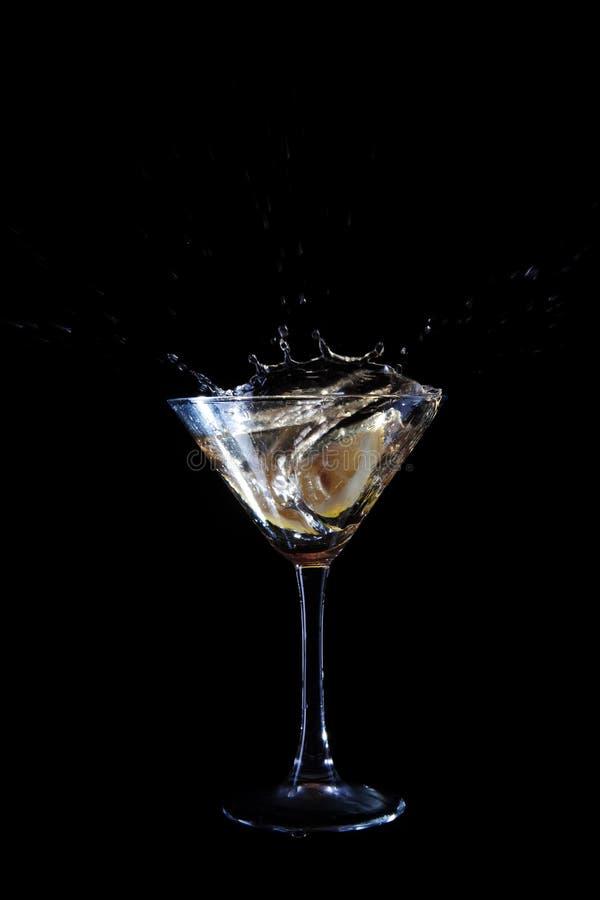 martini szklany wino zdjęcie royalty free