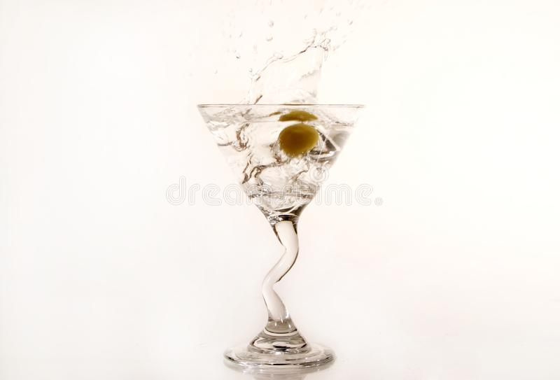 Olive Martini imagens de stock royalty free