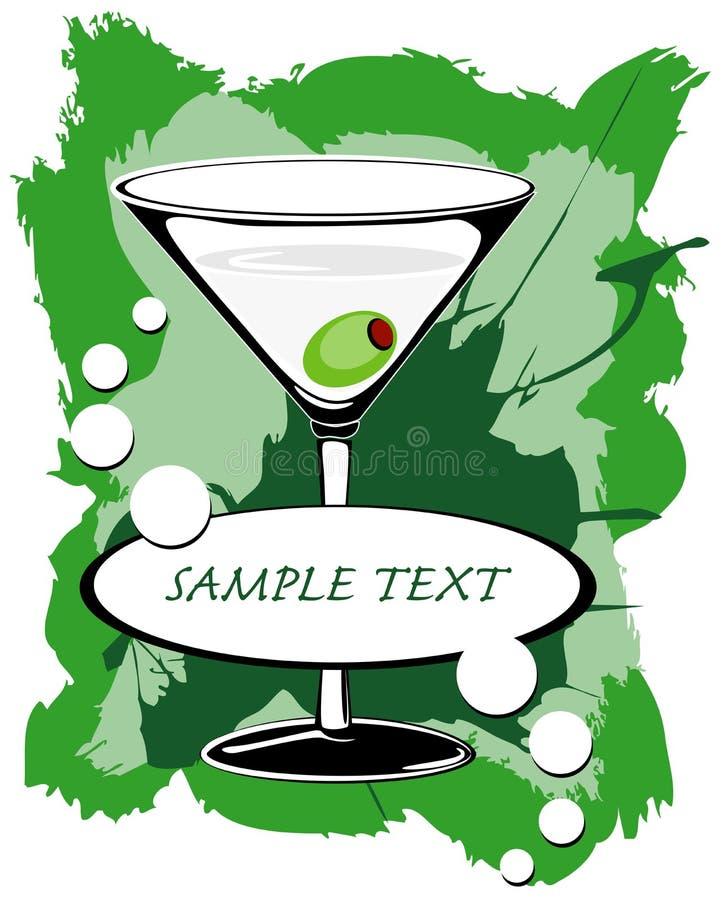martini2 ilustracja wektor