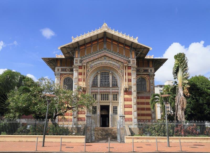 "Martinica, Fort-de-France: Biblioteca del lcher de SchÅ "" imagenes de archivo"