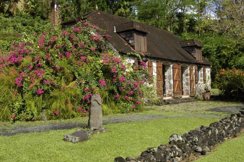 Martinica, museu de Pagerie do La fotos de stock royalty free