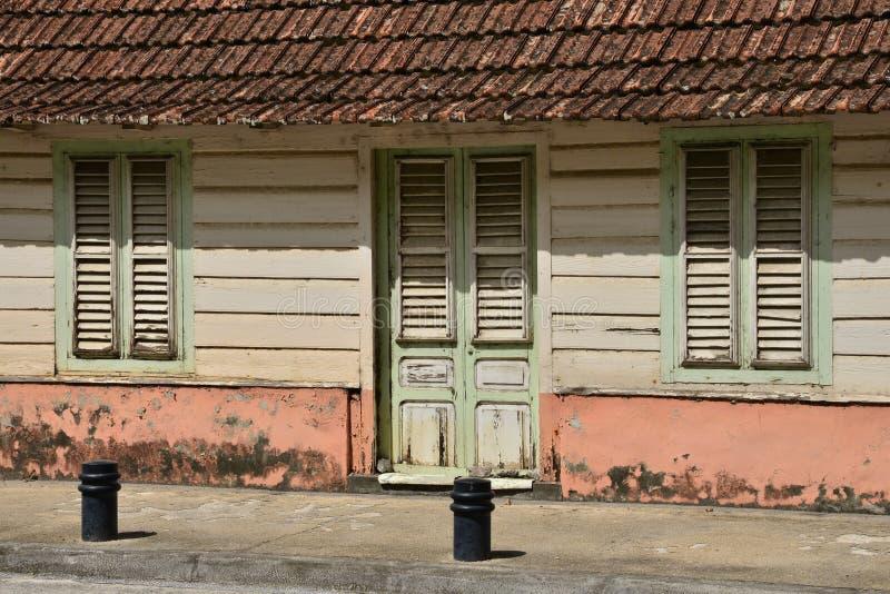 Martinique, de schilderachtige stad van Fort de France in het Westen Indi royalty-vrije stock foto