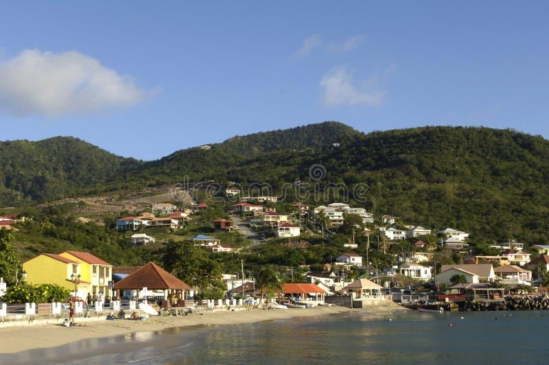 Martinique, Strand von zierlichem Anse lizenzfreie stockbilder