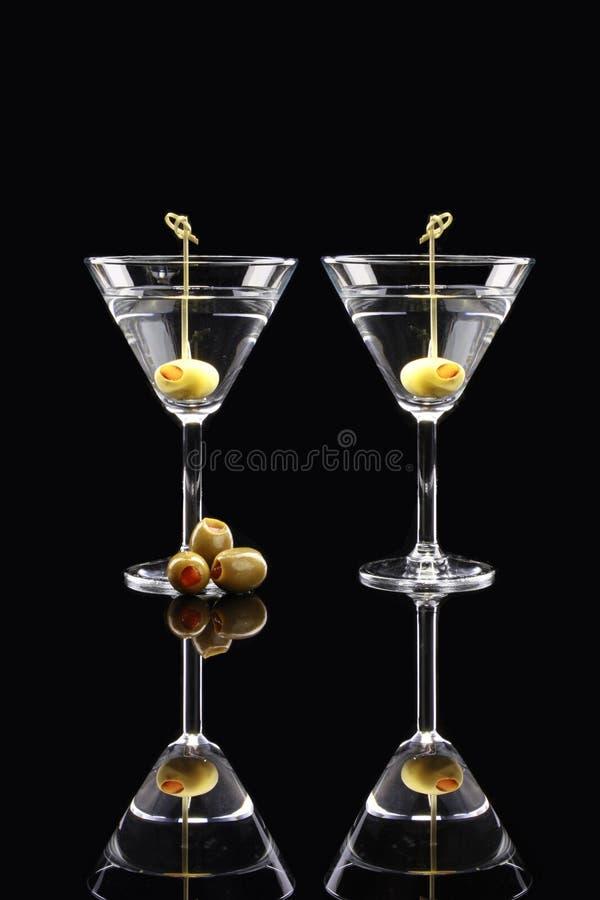 martinis royaltyfria foton
