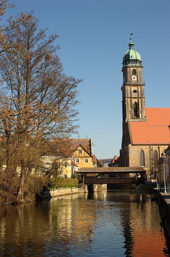 Martinskirche (igreja de Martin) imagens de stock