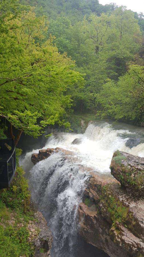 Martvili峡谷 库存照片