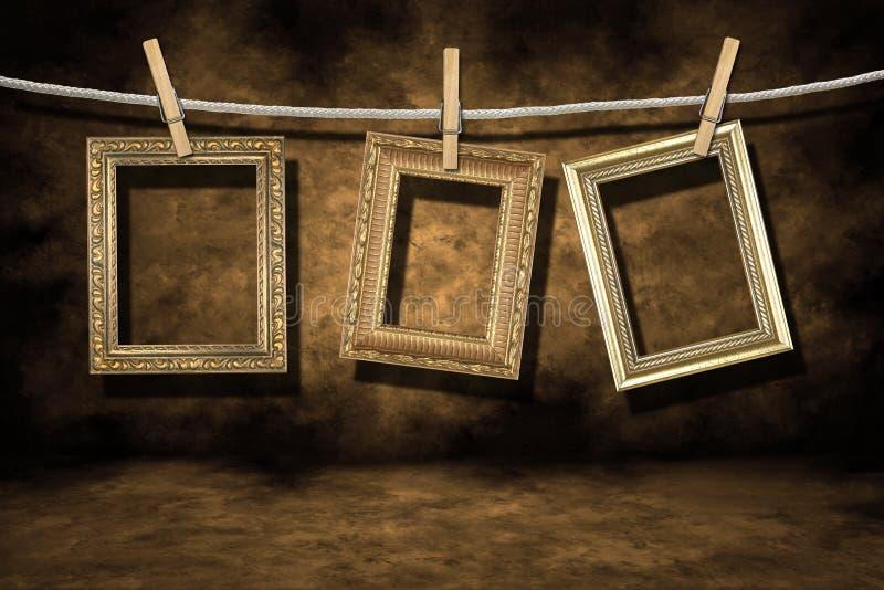 martwię backgroun złotą wrabia grunge zdjęcie fotografia royalty free