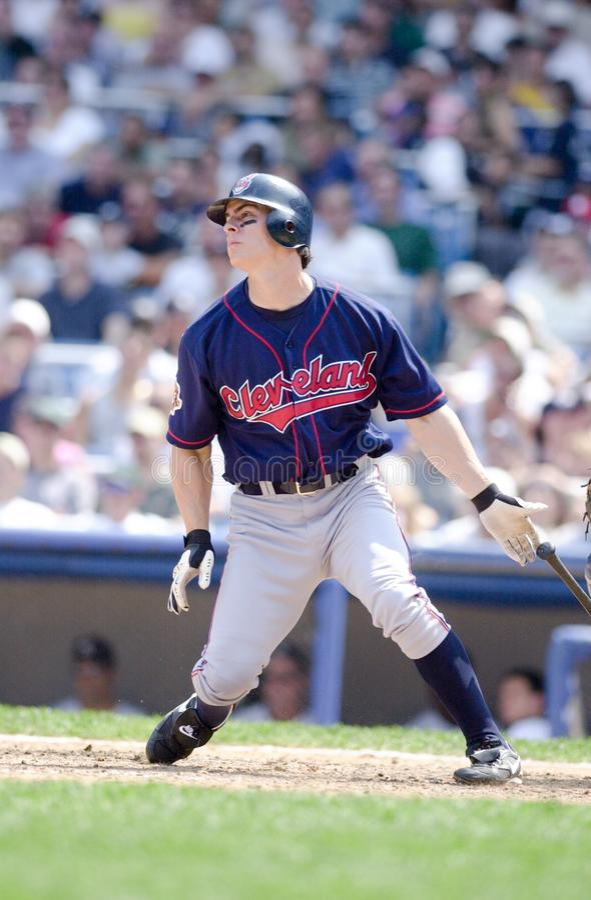Marty Cordova. Cleveland Indians batter Marty Cordova royalty free stock photos