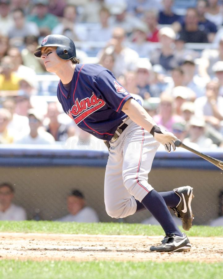 Marty Cordova. Cleveland Indians batter Marty Cordova royalty free stock photo