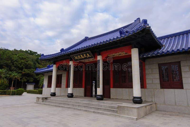 Martyr relikskrin i Kinmen, Taiwan arkivbilder