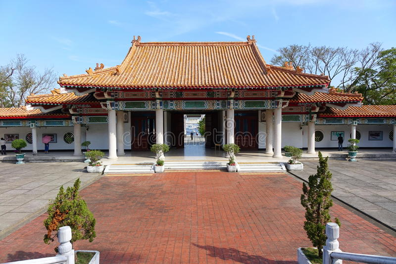 The Martyr Shrine in Kaohsiung City royalty free stock images