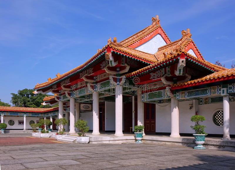 The Martyr Shrine in Kaohsiung City royalty free stock photos