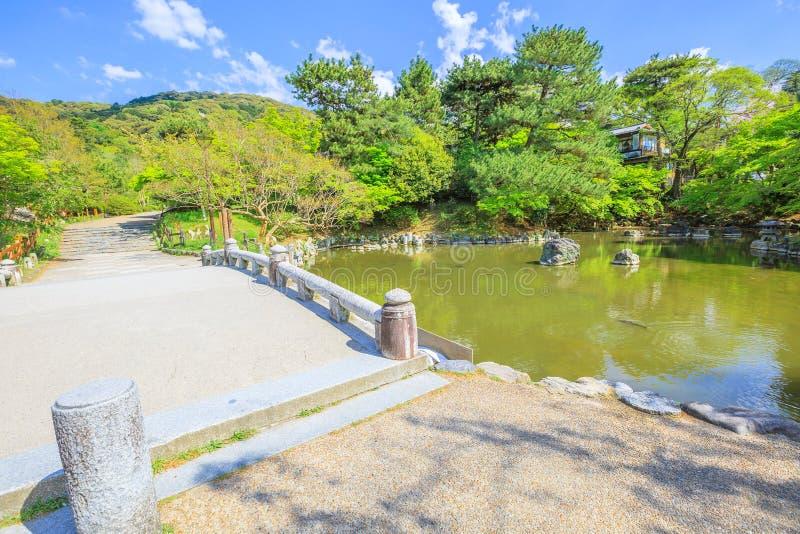 Maruyama Park Kyoto stock image