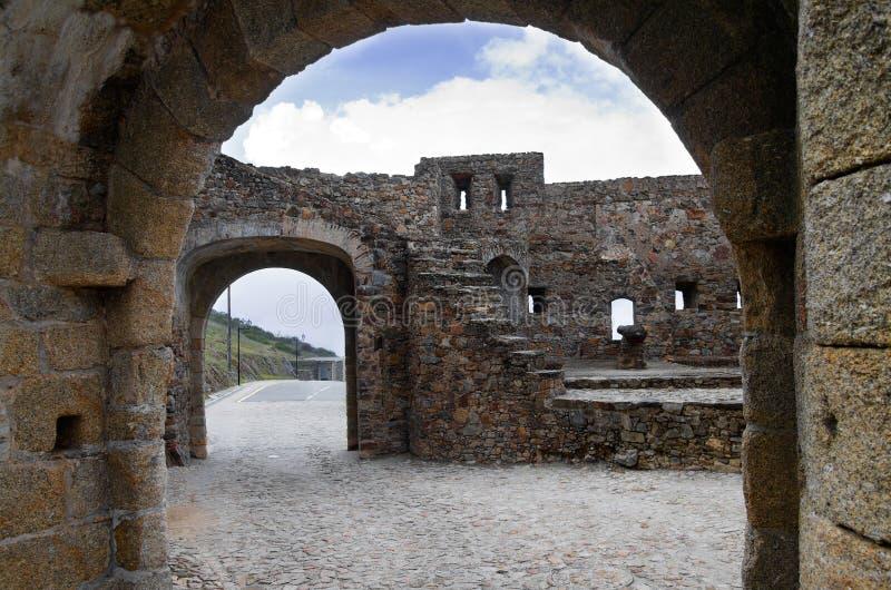Marvão entrance gate royalty free stock image