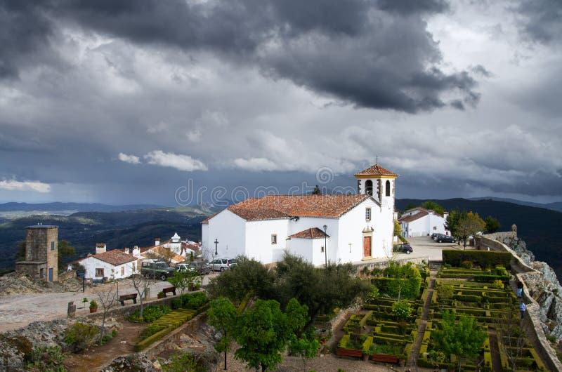 Marvao Church stock photography