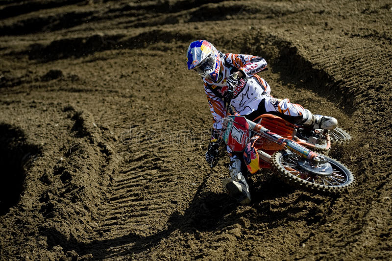 Marvin Musquin/MX2 ; La France image stock