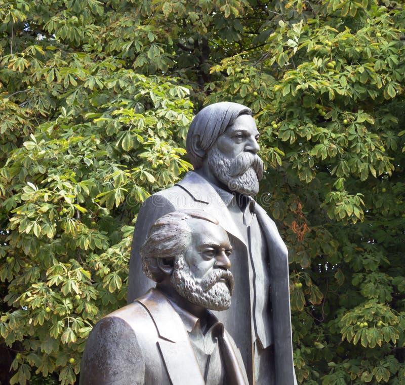 Marx Engels imagen de archivo libre de regalías