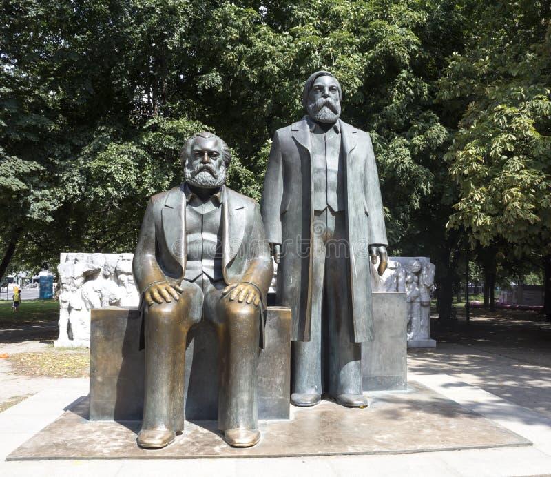Marx Engels foto de archivo