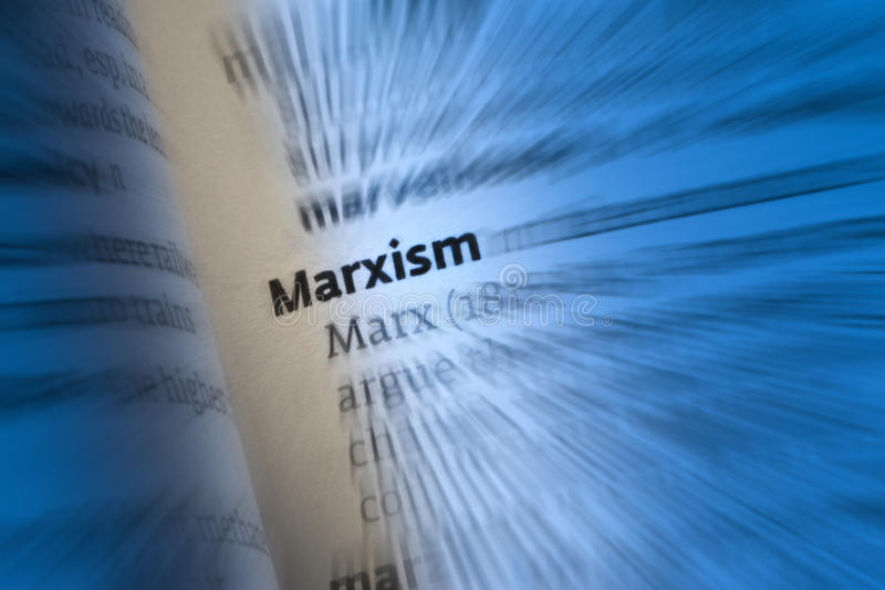 Marxismo - Carl Marx fotografia stock