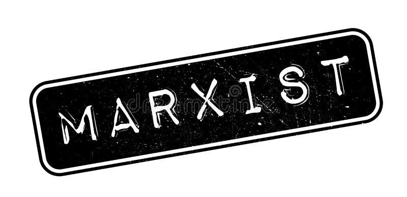 Marxistischer Stempel lizenzfreie abbildung