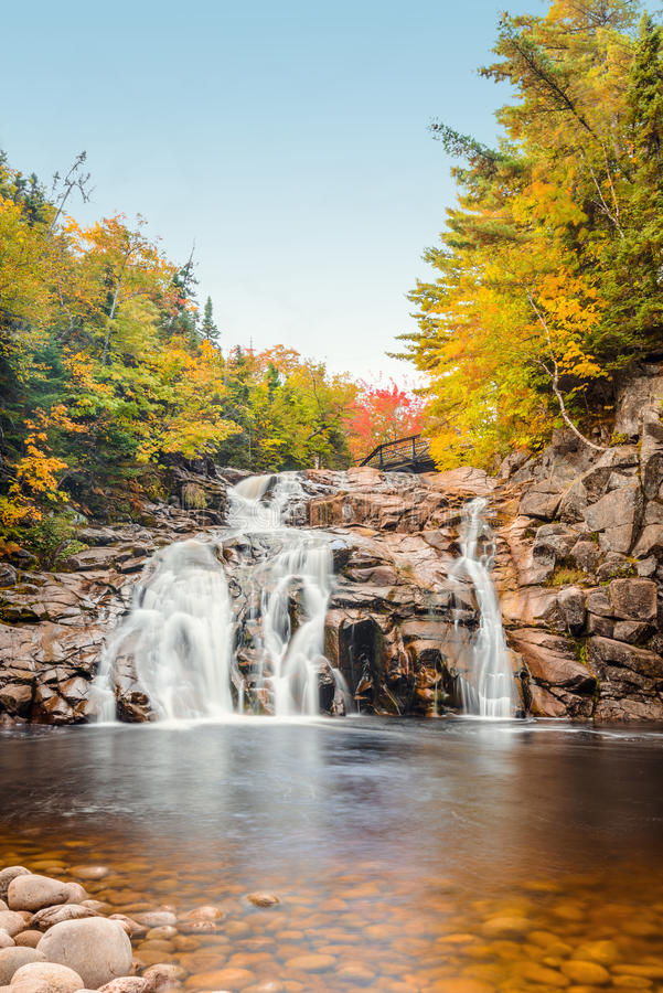 Free Mary Ann Falls In The Fall Royalty Free Stock Photos - 45440308
