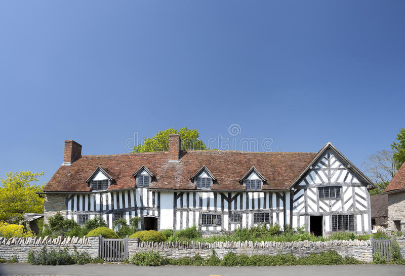 Mary Arden dom zdjęcie royalty free