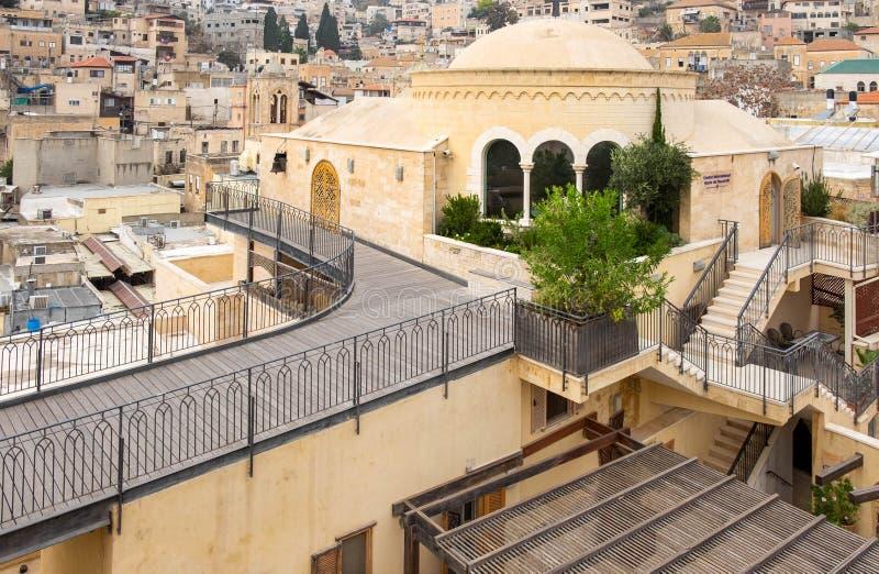 Mary de centre international de Nazareth nazareth photographie stock
