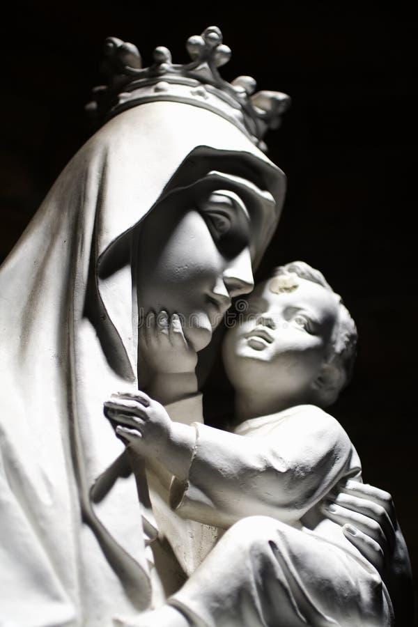 Mary dziecka dziewicy fotografia stock
