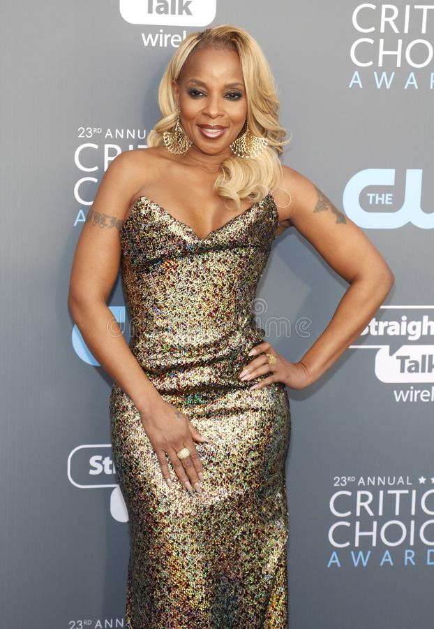 Mary J Blige photo stock