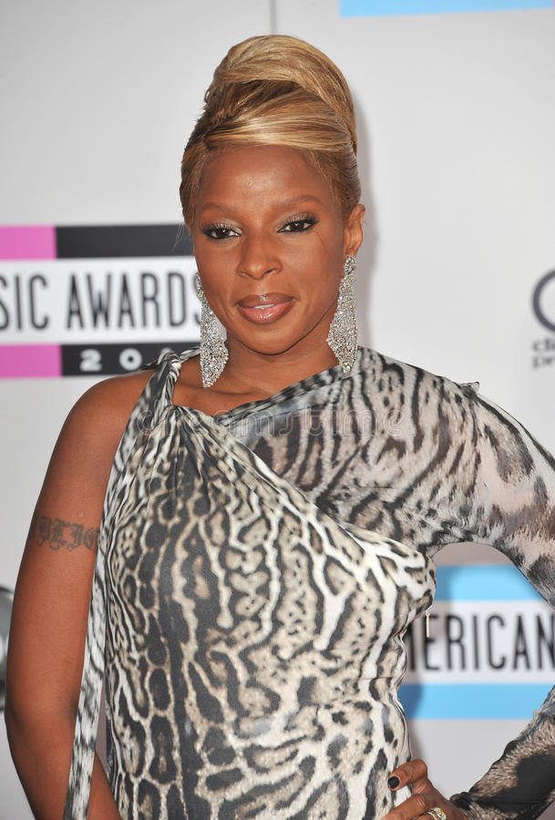 Download Mary J. Blige editorial stock photo. Image of awards - 22467603