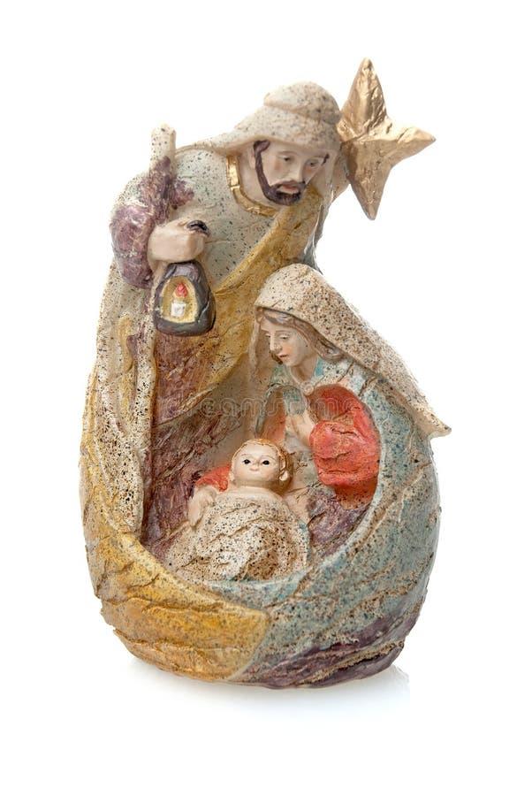 Mary, Jesus und Joseph lizenzfreies stockfoto