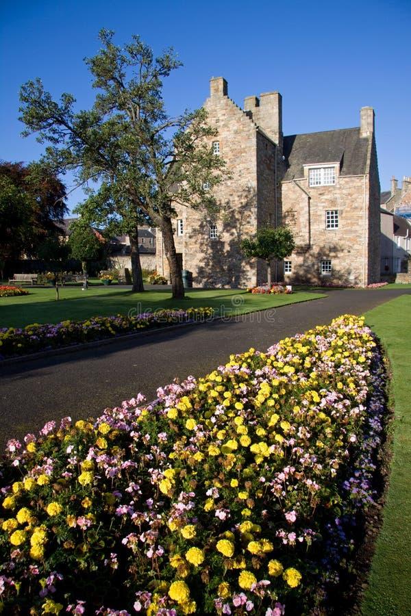 Mary-Königin des schottischen Hauses, Jedburgh lizenzfreies stockfoto