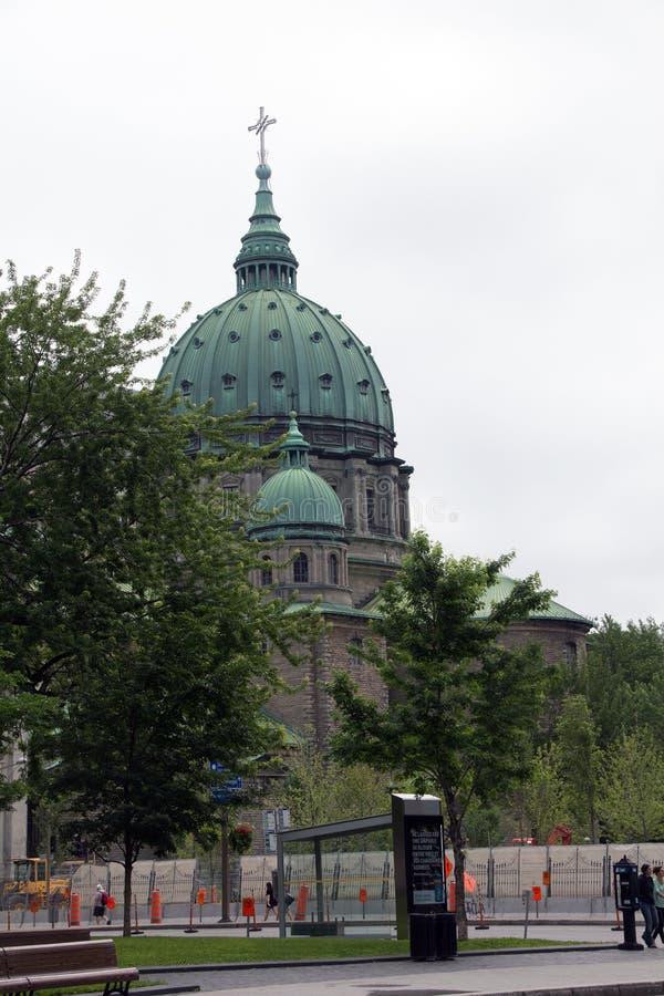 MARY, KONINGIN VAN DE WERELDkathedraal VAN OVER HET VIERKANT VAN DORCHESTER royalty-vrije stock afbeeldingen