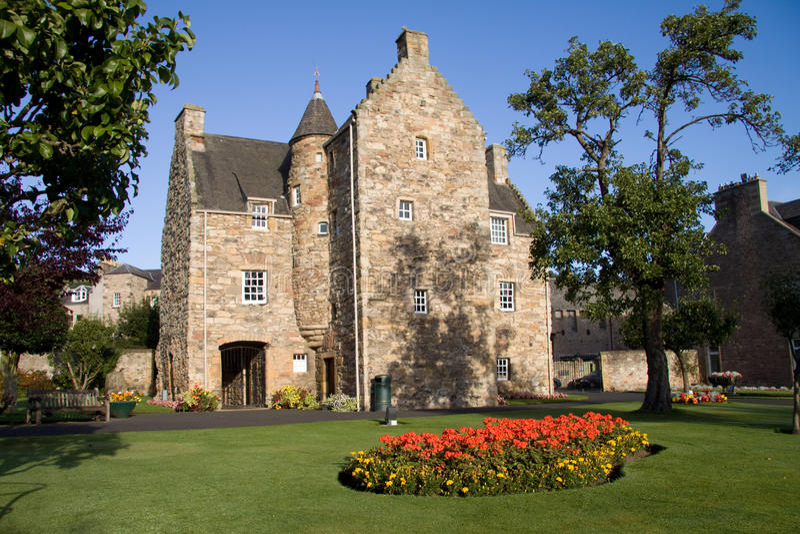 Mary Koningin van Scots Huis, Jedburgh 1 royalty-vrije stock afbeeldingen