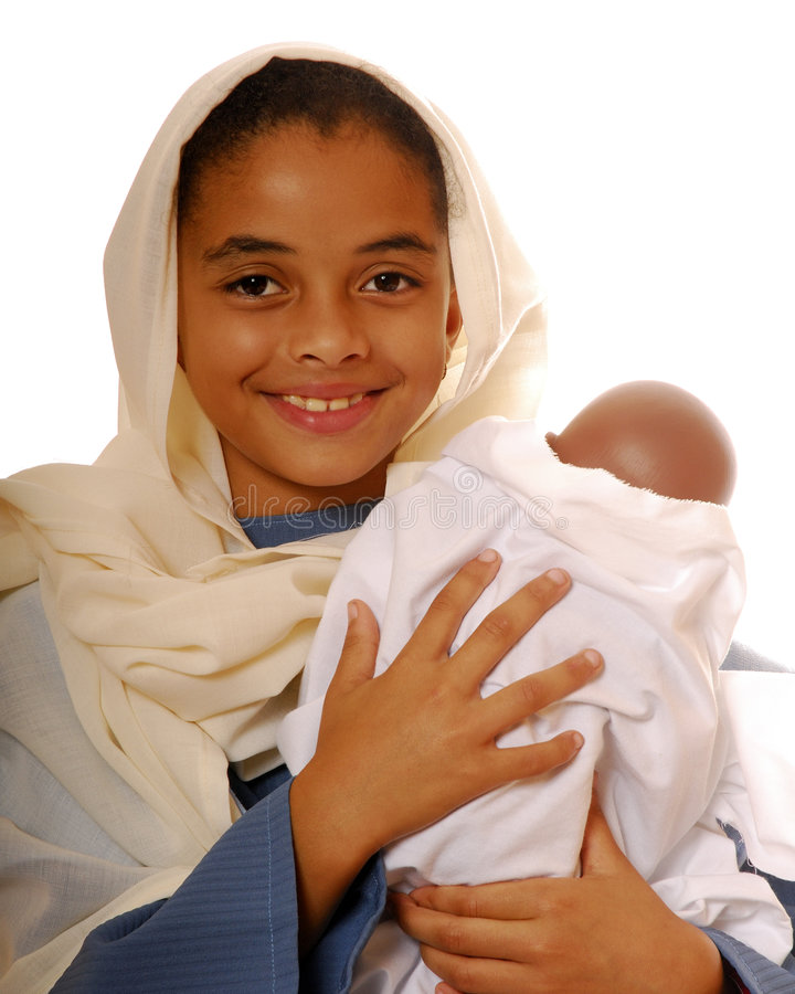 Mary, la mère de Jésus images libres de droits