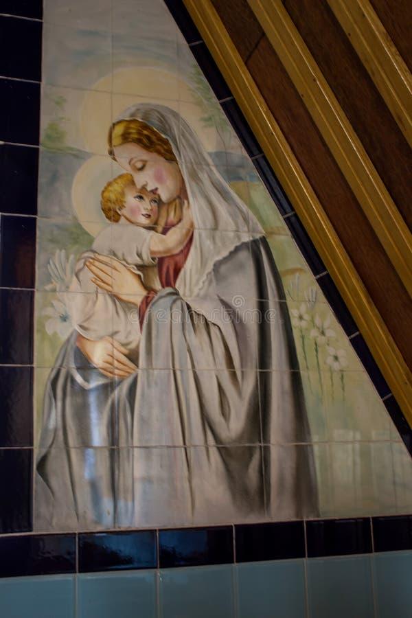 Mary, matriz de Jesus imagens de stock