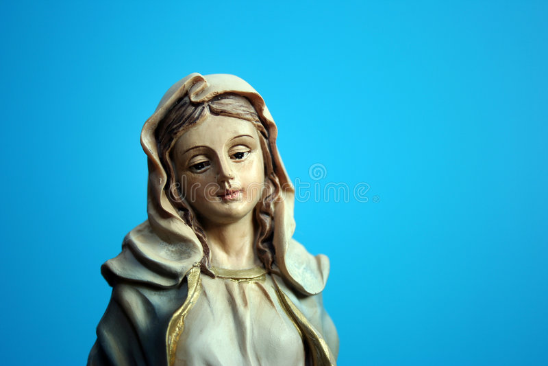 mary moder arkivfoto