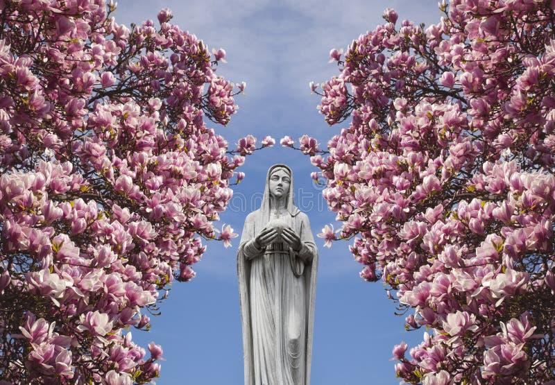 Mary, moeder van Jesus royalty-vrije illustratie
